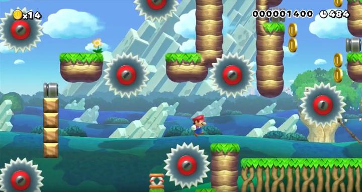 Mario Maker Saw Blades