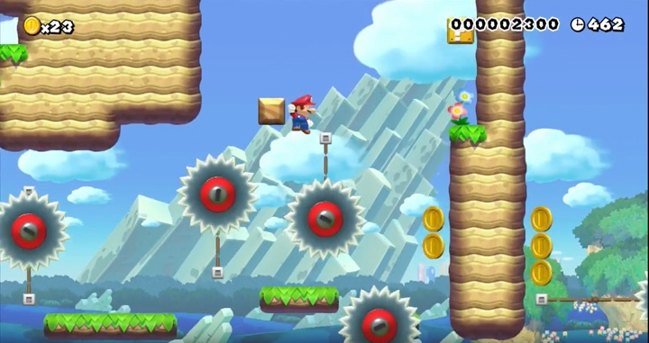 Mario Maker Wall Jumps