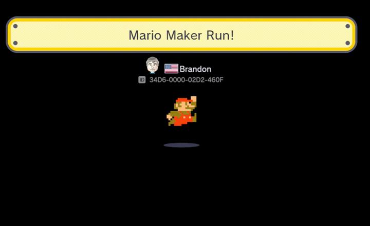Mario Maker Level - 34D6-0000-02D2-460F